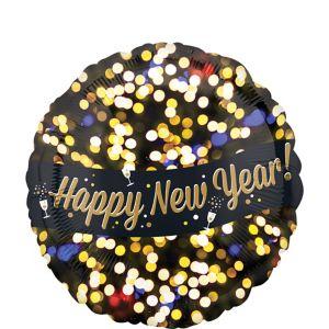 Bright Lights New Year's Balloon