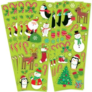 Christmas Fun Stickers 8 Sheets
