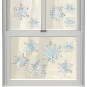 Snowflake Decals 11ct