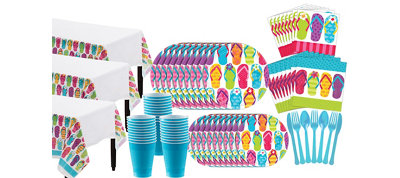 Bright Flip Flop Mega Party Kit