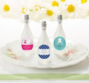 Personalized Baby Bubbles (Printed Label) (Lavender, Floral)