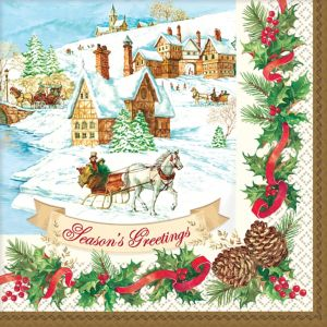 Holiday Magic Dinner Napkins 36ct
