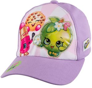 Child Purple Shopkins Baseball Hat