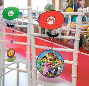 Super Mario Chair Decorating Kit