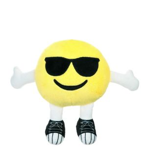 Sunglasses Smiley Plush