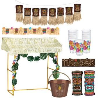 Tiki Hut Decorating Kit