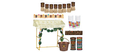 Tiki Hut Decoration Kit