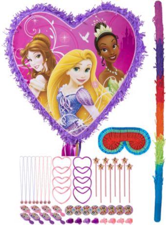 Disney Princess Heart Pinata Kit with Favors