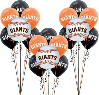 San Francisco Giants Balloon Kit