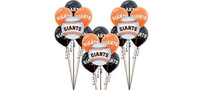 San Francisco Giants Balloon Kit