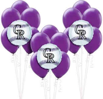 Colorado Rockies Balloon Kit