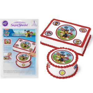 Wilton PAW Patrol Sugar Sheet