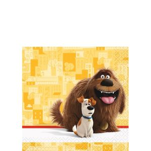 The Secret Life of Pets Beverage Napkins 16ct