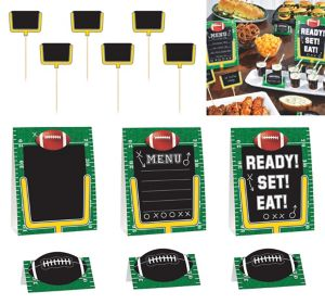 Football Field Buffet Decorating Kit 12pc