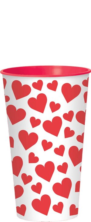 Hearts Valentine's Day Cup