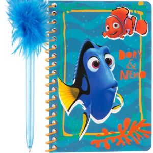 Finding Dory Notebook with Marabou Pen