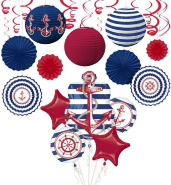 Nautical Theme Decoration Kit