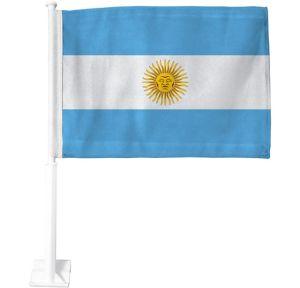 Argentinian Flag Car Flag