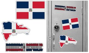Dominican Magnets 3pc
