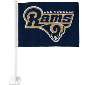 Los Angeles Rams Car Flag
