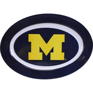 Michigan Wolverines Oval Platter