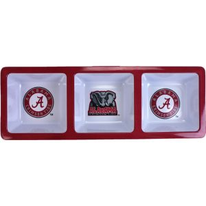 Alabama Crimson Tide Divided Snack Tray