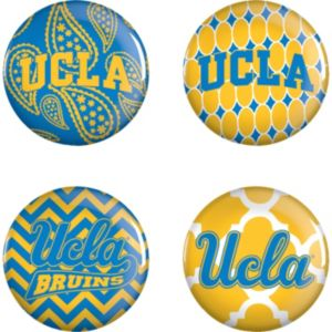 UCLA Bruins Buttons 4ct