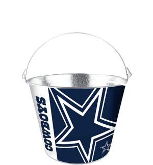 Dallas Cowboys Galvanized Bucket