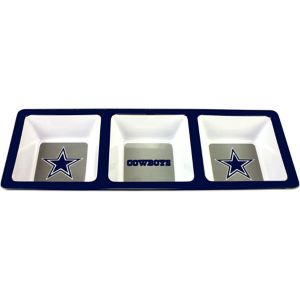 Dallas Cowboys Divided Snack Tray