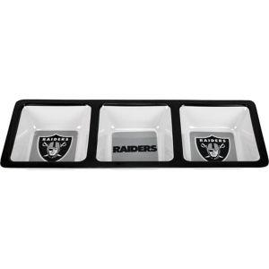 Oakland Raiders Divided Snack Tray