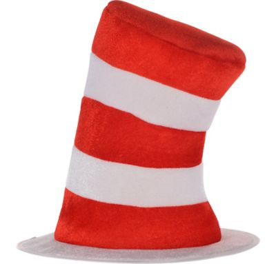 child felt cat in the hat top hat 10 1 2in x 10 1 2in dr seuss