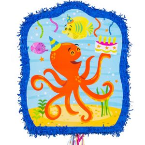 Pull String Under the Sea Pinata