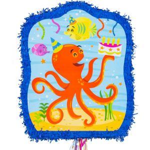 Pull String Under the Sea Pinata