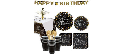 Sparkling Celebration Birthday Party Kit for 32 Guests