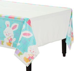 Hippity Hop Easter Bunny Table Cover