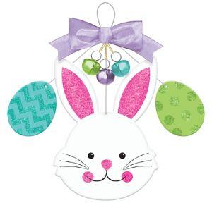 Glitter Easter Bunny & Egg Easter Sign