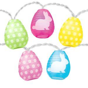 Easter Egg Lantern String Lights