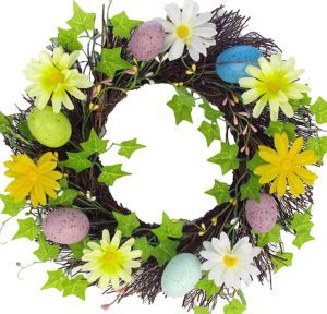 Twig Easter Wreath
