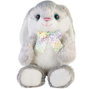 Gray Easter Bunny Plush
