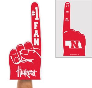 Nebraska Cornhuskers Foam Finger
