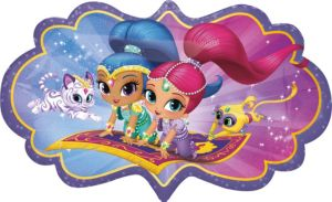 Shimmer and Shine Balloon - Giant