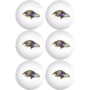 Baltimore Ravens Pong Balls 6ct