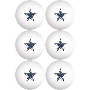Dallas Cowboys Pong Balls 6ct