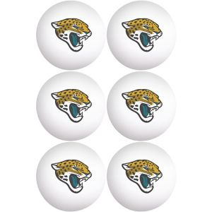 Jacksonville Jaguars Pong Balls 6ct