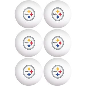 Pittsburgh Steelers Pong Balls 6ct