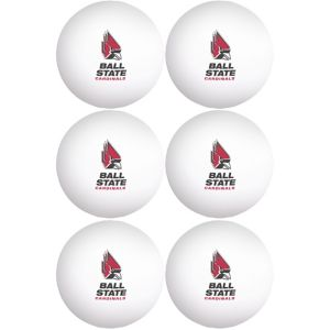 Ball State Cardinals Pong Balls 6ct
