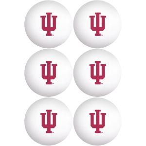 Indiana Hoosiers Pong Balls 6ct