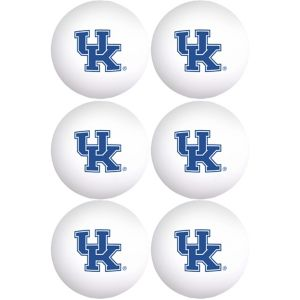Kentucky Wildcats Pong Balls 6ct