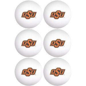 Oklahoma State Cowboys Pong Balls 6ct
