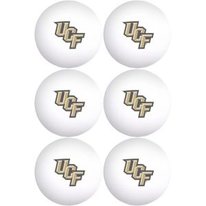 UCF Knights Pong Balls 6ct